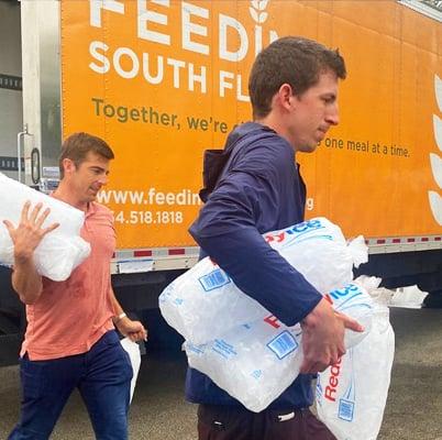 Thoma Bravo Volunteering Feeding South Florida