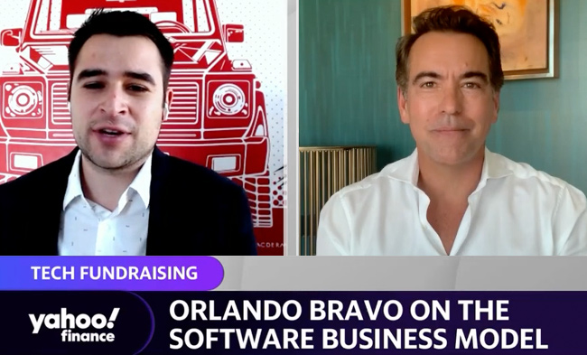Orlando Bravo on Yahoo Finance
